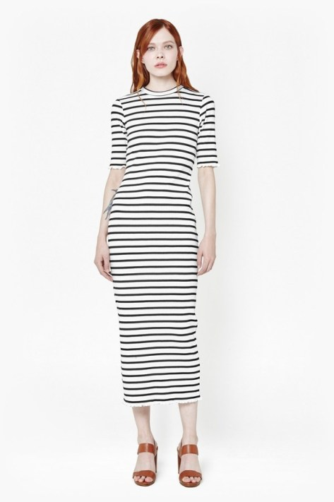 Later Stripe Dress by French Connection