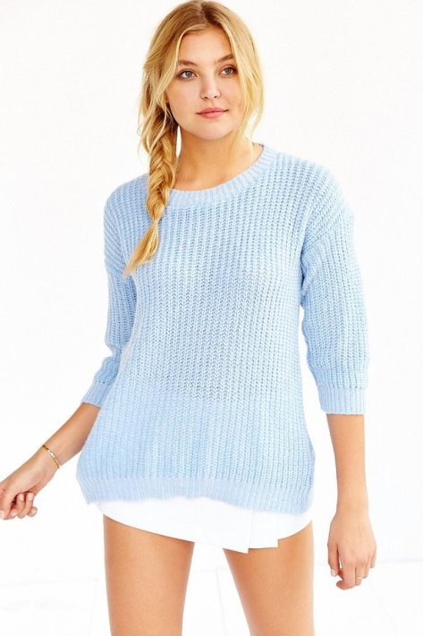 Glamorous Cozy Stitched Sweater by Glamorous