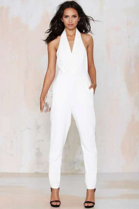 Nasty Gal Corner Office Tuxedo Jumpsuit by Nasty Gal